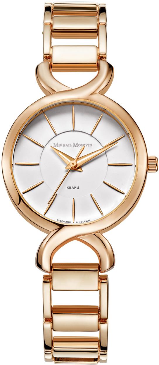 Часы наручные женские Mikhail Moskvin, цвет: золотистый. 1258A3B3