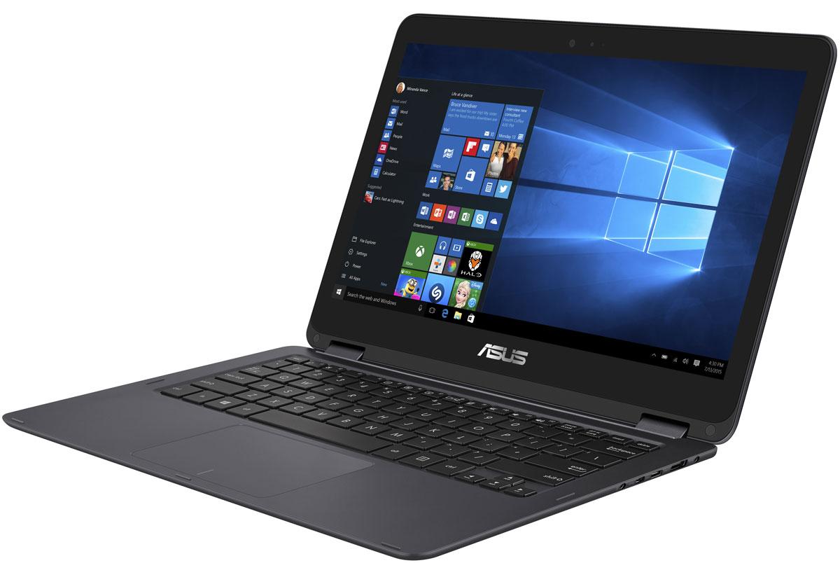 ASUS ZenBook Flip UX360CA (UX360CA-C4124TS)UX360CA-C4124TSAsus Zenbook Flip UX360CA сочетает в себе элегантную изысканность ультрабуков серии Zenbook с удобством и универсальностью ноутбуков-трансформеров, оснащенных откидывающимся на 360° дисплеем. Это ультратонкое, ультралегкое и стильное устройство может быть и ноутбуком, и планшетом, и чем-то большим. Он создан, чтобы быть с вами везде, в любой ситуации. Установленный в нем процессор Intel Core с легкостью справится с любыми повседневными задачами, а его батареи хватает на целых 12 часов работы без подзарядки!ZenBook Flip UX360CA представляет собой шедевр с точки зрения дизайна. Он выполнен в тонком и одновременно прочном алюминиевом корпусе монолитной конструкции и при толщине 13,9 мм весит всего 1,3 кг. К элегантному дизайну семейства ZenBook с отличительной отделкой в виде концентрических окружностей добавляют нотку изысканности оригинальные цветовые решения.ZenBook Flip UX360CA оборудован дисплеем с инновационным механизмом крепления, который позволяет раскрывать ноутбук на 360 градусов и надежно удерживает дисплей точно в заданном положении. Чтобы гарантировать надежность работы данного механизма, тестовые образцы ZenBook Flip подвергаются 20 000 операций открытия/закрытия крышки дисплея.Лучше один раз увидеть. IPS-экран ZenBook Flip UX360CA с разрешением Full HD (1920 x 1080 точек) воспроизводит 72% цветового пространства NTSC и может похвастать высокой яркостью (350 кд/м2). Таким образом, он может показывать больше оттенков, а также отображать их точнее и ярче, чем любой стандартный дисплей ноутбука, и вне зависимости от угла, под которым пользователь смотрит на экран.Процессор Intel Core M, установленный в ZenBook Flip UX360CA, обладает отличной производительностью и высокой энергоэффективностью, а литий-полимерный аккумулятор ноутбука обеспечивает до 12 часов автономной работы. ZenBook Flip UX360CA идеально подходит для мобильного стиля жизни.Лучшему ноутбуку - лучшие компоненты. В аппаратную конфигурац