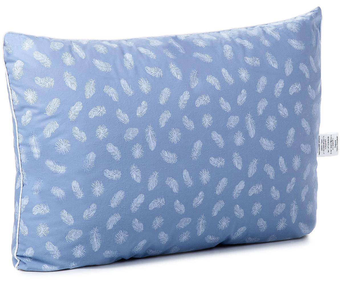 Подушка Тихий час Полу-пуховая, цвет: голубой, 50 х 70 смТЧП 2-2Коллекция пуховых постельных принадлежностей, выполненная в классическом стиле. Одеяла и подушки отличаются объемом и плавностью линий. Оптимальное соотношение пуха и пера (50/50%) в составе наполнителя, мягкость, упругость одеял и подушек.Для коллекции подобрана ткань, плотная структура которой препятствует миграции мелкого пера через чехол. Спокойные тона коллекции с неброским рисунком понравятся тем, кто ценит простоту и элегантность.