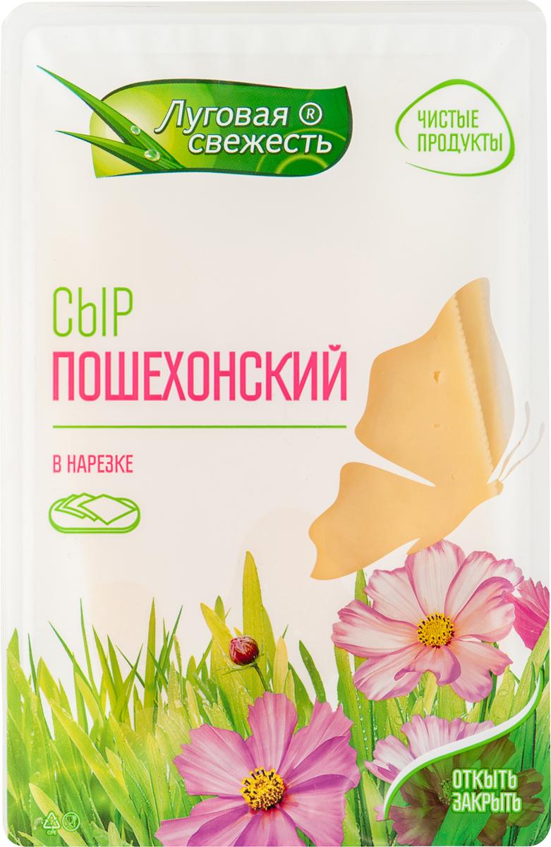 Луговая Свежесть Сыр Пошехонский, 45%, нарезка, 125 г куплю дом в ярославской области от 100000 до 200000