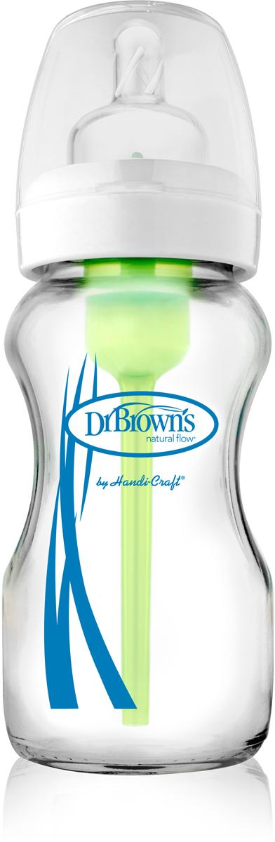 Dr.Brown's Бутылочка с широким горлышком Options 270 мл -  Бутылочки