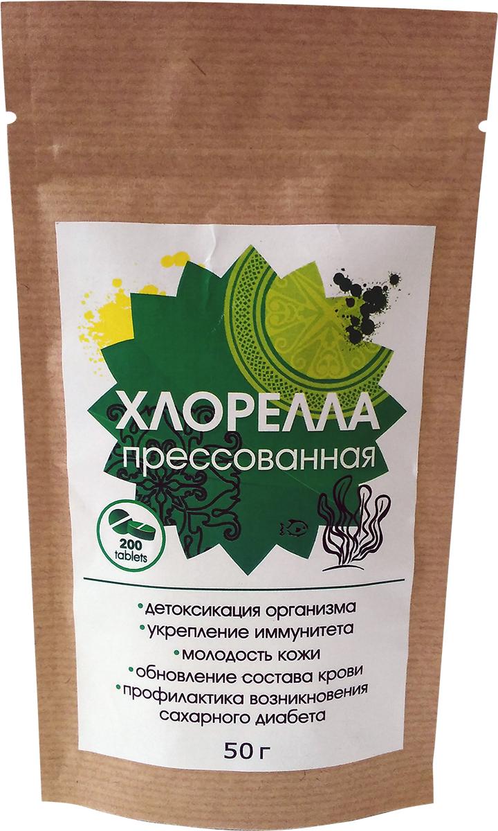 Greenbuffet Хлорелла прессованная, 50 г orihiro хлорелла 900 таблеток