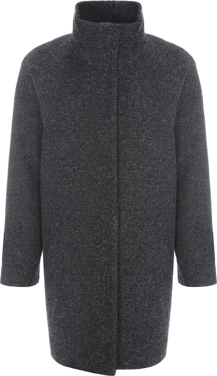 Пальто женское Alessandro Vasaio, цвет: деним. 1193. Размер M (46)1193Молодежная модель oversize, выполненная из итальянской ткани. Модель имеет воротник-стойку, рукав реглан и удобные карманы. Отражает последние тенденции в мире моды.