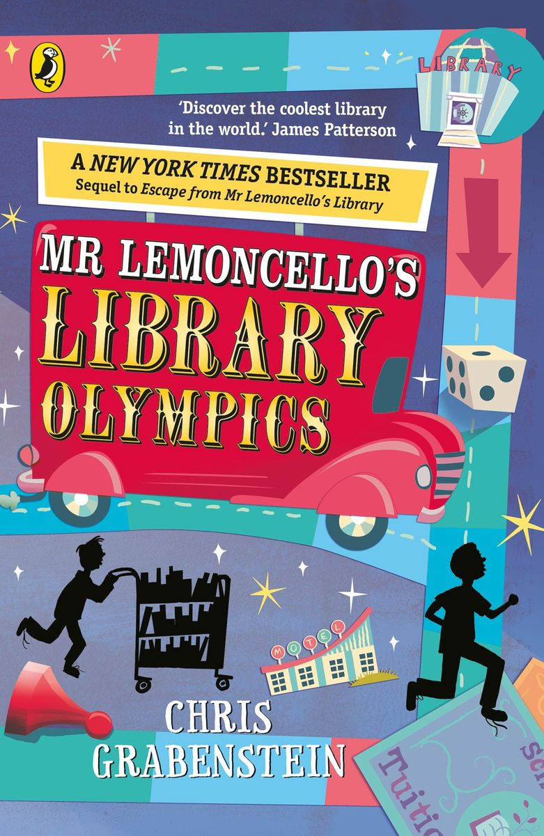 Mr Lemoncello's Library Olympics jd mcpherson jd mcpherson let the good times roll
