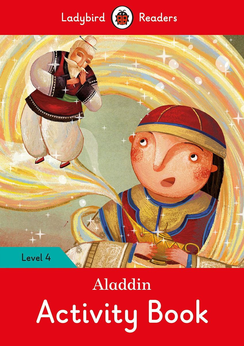 Aladdin Activity Book - Ladybird Readers Level 4 sharks ladybird readers level 3