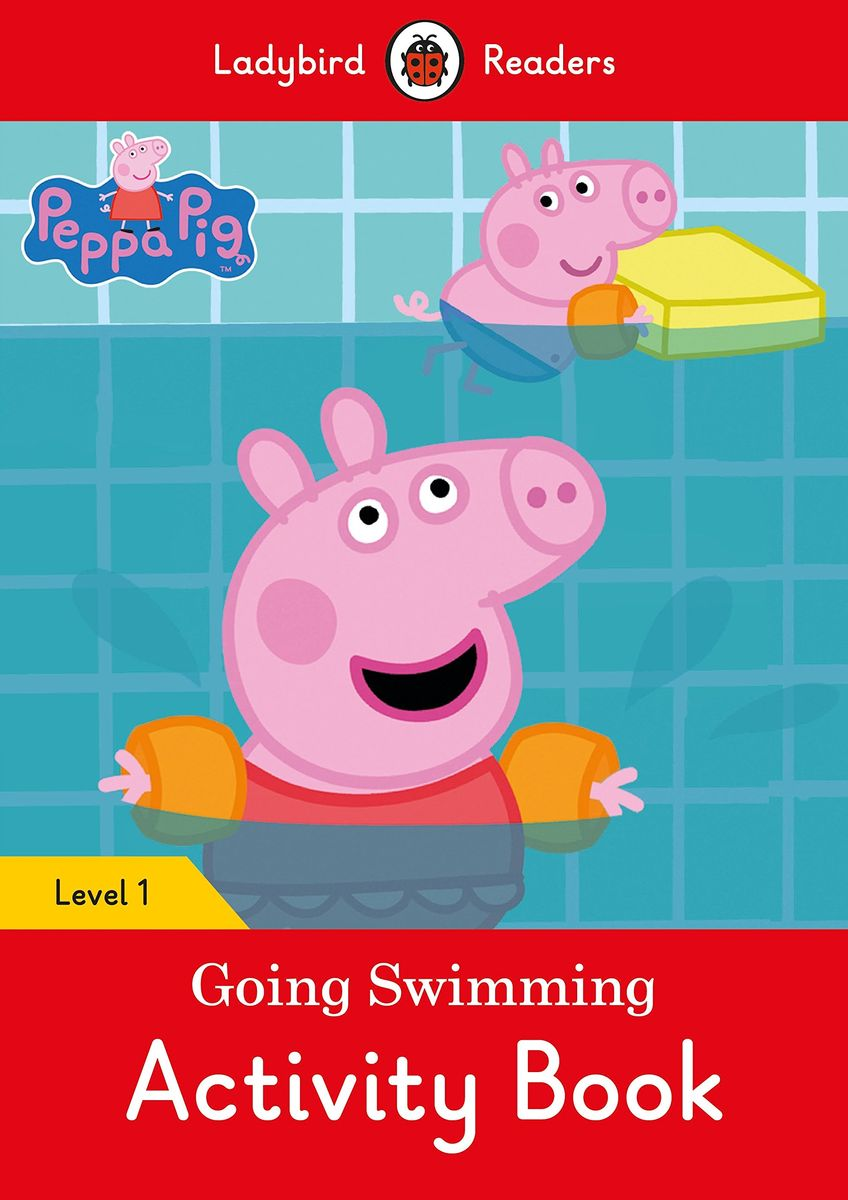 Peppa Pig Going Swimming Activity Book inflatable baby swimming pool tub infant thicken security inflating bathtub bathing shower pad folding children washbowl d3