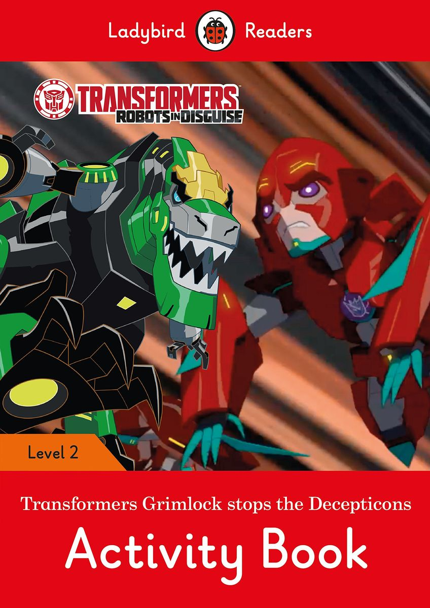 Transformers: Grimlock Stops the Decepticons Activity Book – Ladybird Readers Level 2 sharks ladybird readers level 3