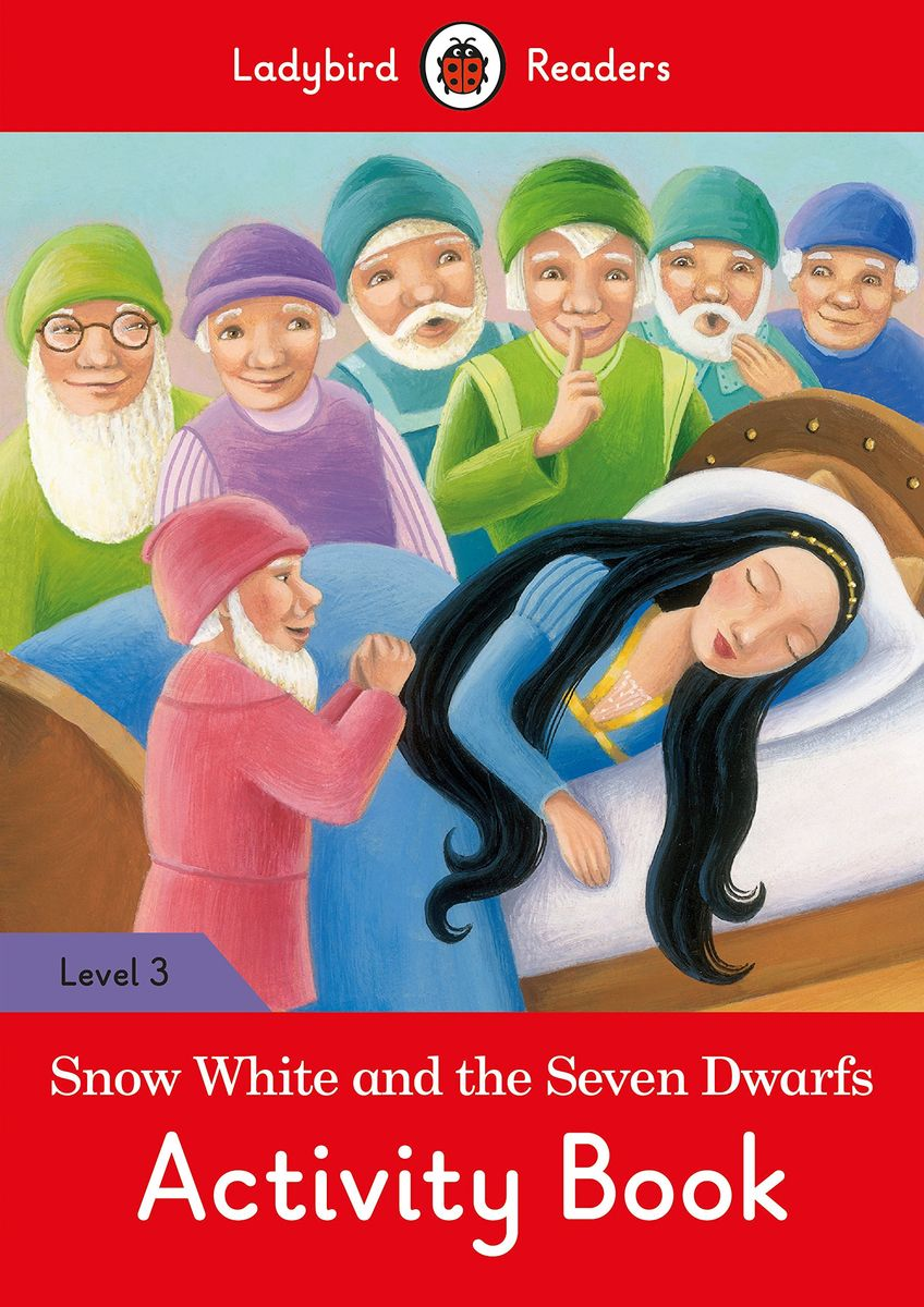 Snow White Activity Book- Ladybird Readers Level 3 sharks ladybird readers level 3