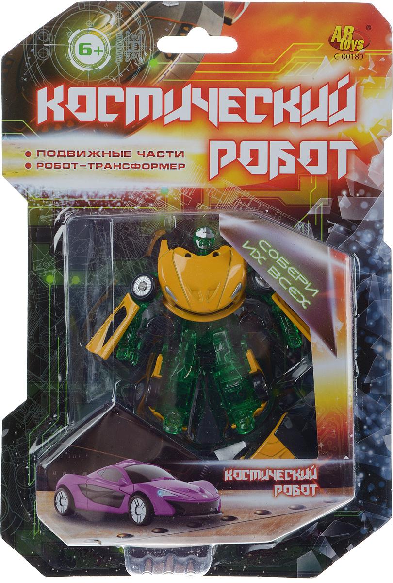 Zakazat.ru ABtoys Трансформер Космический робот цвет зеленый синий