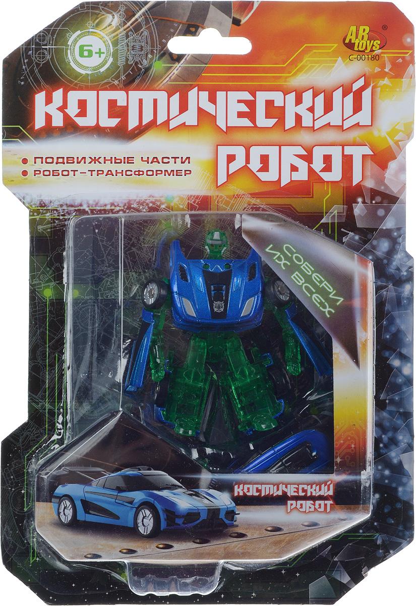 Zakazat.ru ABtoys Трансформер Космический робот цвет зеленый желтый