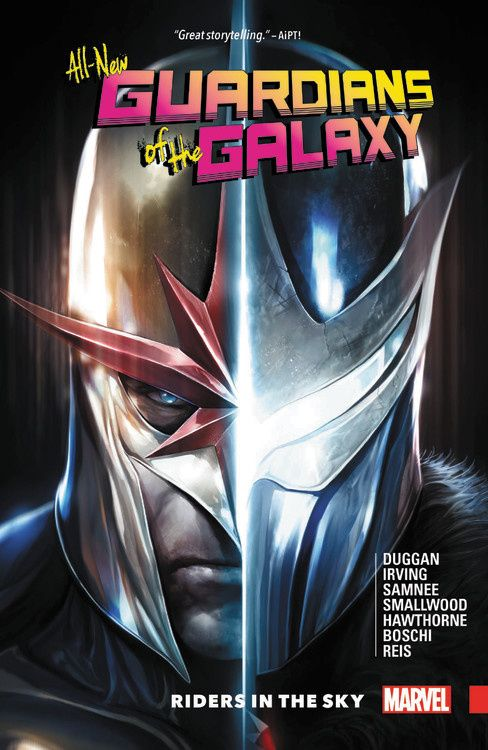 All-New Guardians of the Galaxy Vol. 2: Riders in the Sky the ninth life of louis drax