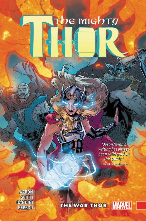 Mighty Thor Vol. 4: The War Thor thor god of thunder volume 4