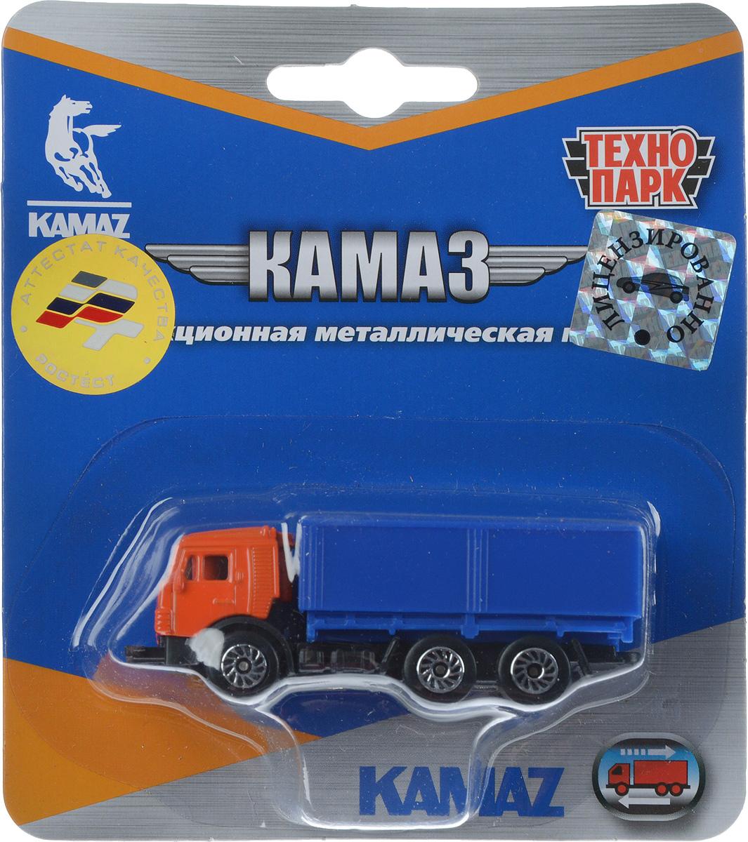 ТехноПарк Модель автомобиля Камаз цвет оранжевый синий