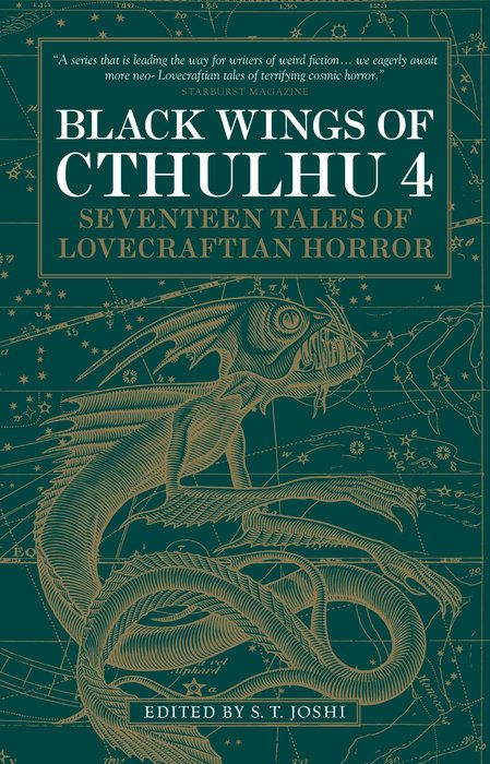 Black Wings of Cthulhu (Volume Four) lovecraft unbound