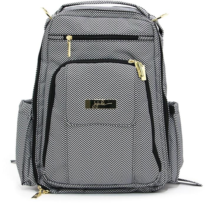 Ju-Ju-Be Рюкзак для мамы Be Right Back цвет серый черный 14BP01L-3012 -  Сумки для мам