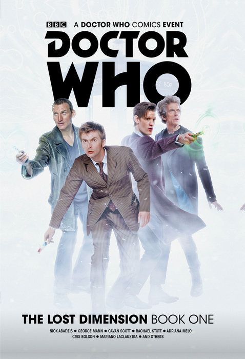 Doctor Who: The Lost Dimension Vol. 1 Collection the incarnations