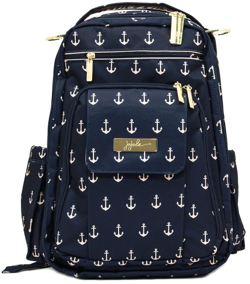 Ju-Ju-Be Рюкзак для мамы Be Right Back цвет синий 14BP01L-3418 сумка для мамы ju ju be be light onyx black beauty