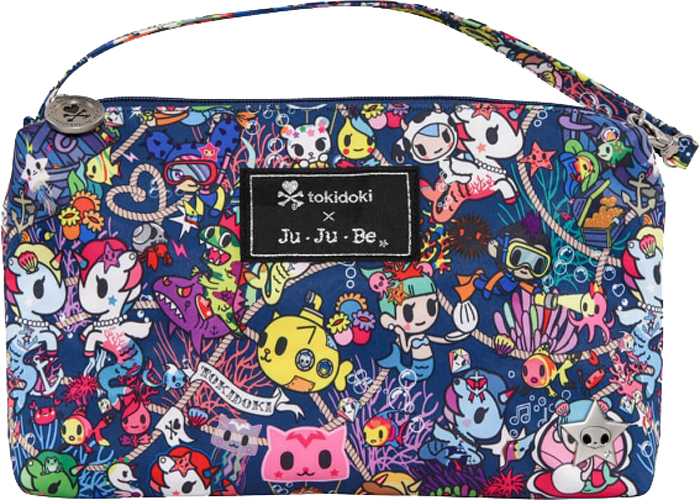 Ju-Ju-Be Сумка для мамы Be Quick цвет синий розовый 06AA10T-1673
