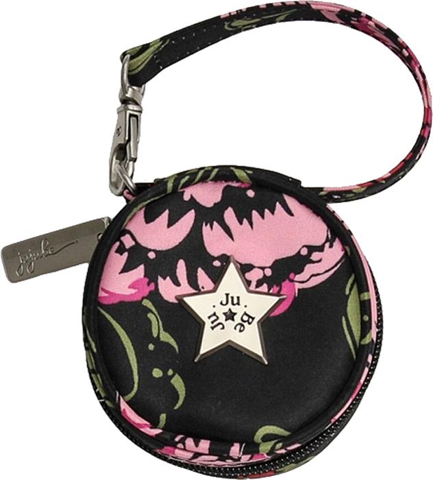 Ju-Ju-Be Сумка для пустышек Paci Pod цвет розовый черный 08AA11A-5795 ju ju be сумка для мамы hobobe black petals