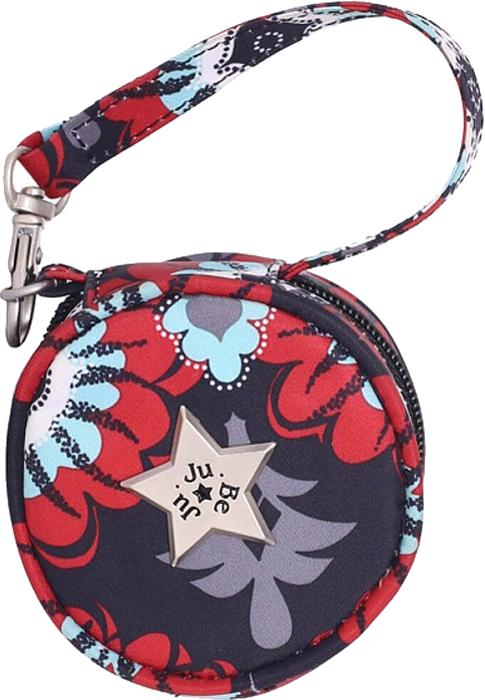 Ju-Ju-Be Сумка для пустышек Paci Pod цвет красный серый 08AA11A-8383 ju ju be сумка для мамы hobobe black petals