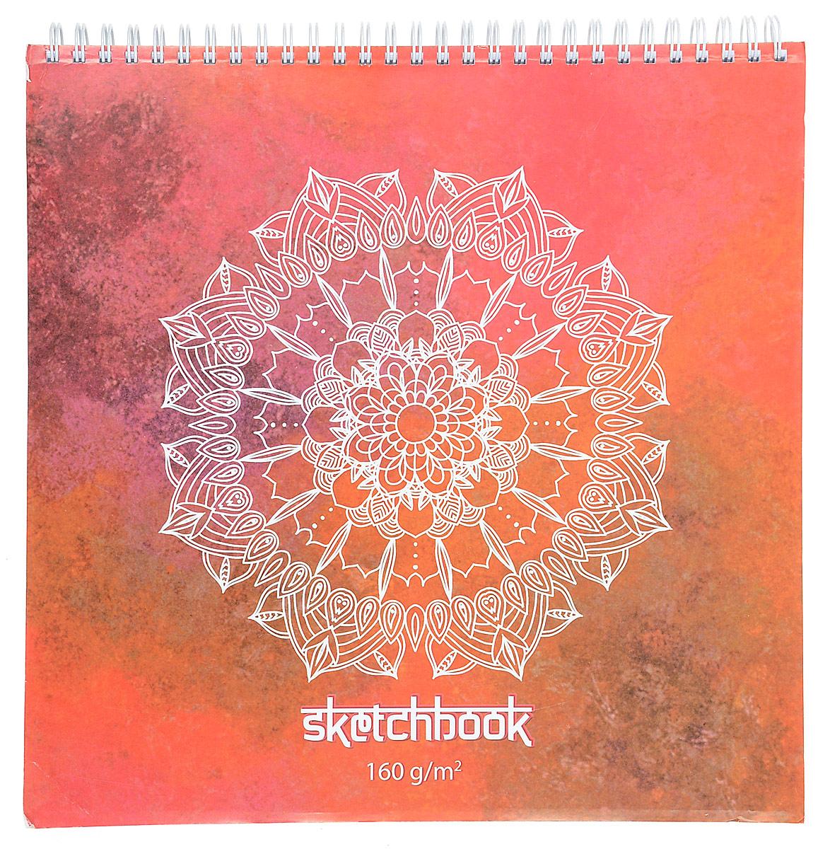 Полином Бумага для эскизов Sketchbook цвет оранжевый белый 60 листов2333515_оранжевый, белыйПолином Бумага для эскизов Sketchbook цвет оранжевый белый 60 листов
