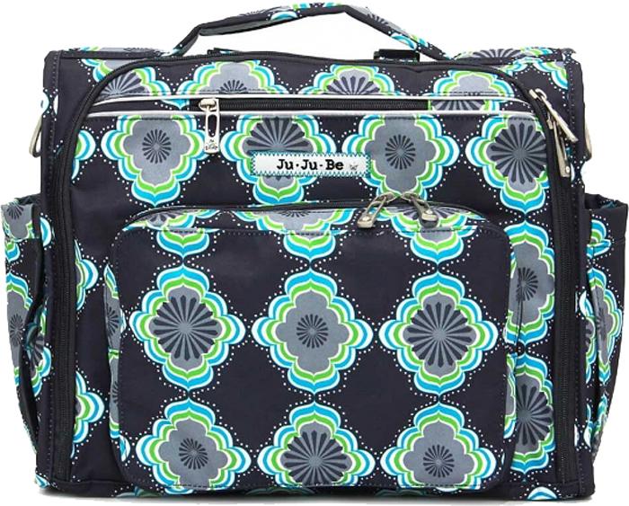 Ju-Ju-Be Сумка-рюкзак для мамы B.F.F. цвет синий зеленый 09FM02A-3074