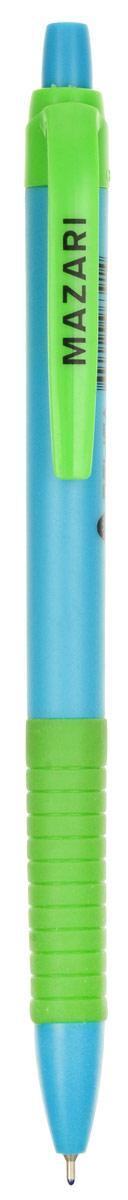 Mazari Ручка шариковая Delica цвет салатовый голубойМ-5765_салатовый, голубойMazari Ручка шариковая Delica цвет салатовый гоубой