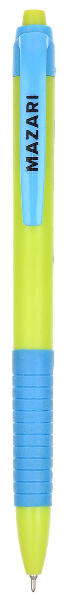 Mazari Ручка шариковая Delica цвет голубой зеленыйМ-5765_голубой, зеленыйMazari Ручка шариковая Delica цвет голубой зеленый
