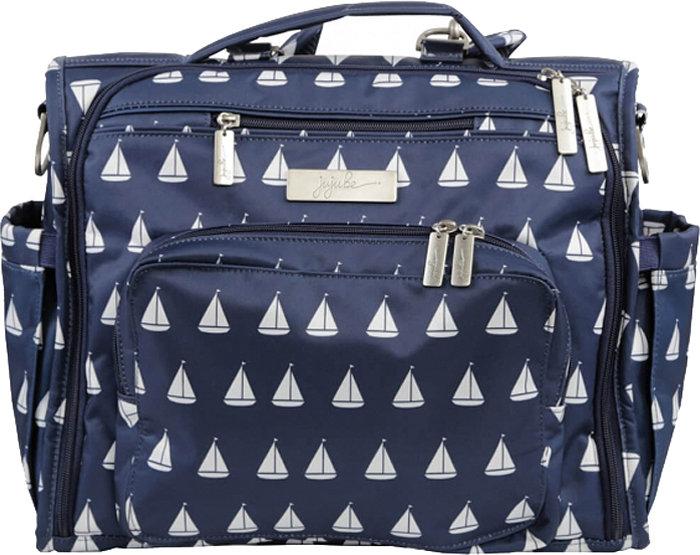 Ju-Ju-Be Сумка-рюкзак для мамы B.F.F. цвет синий белый 16FM02P-0911
