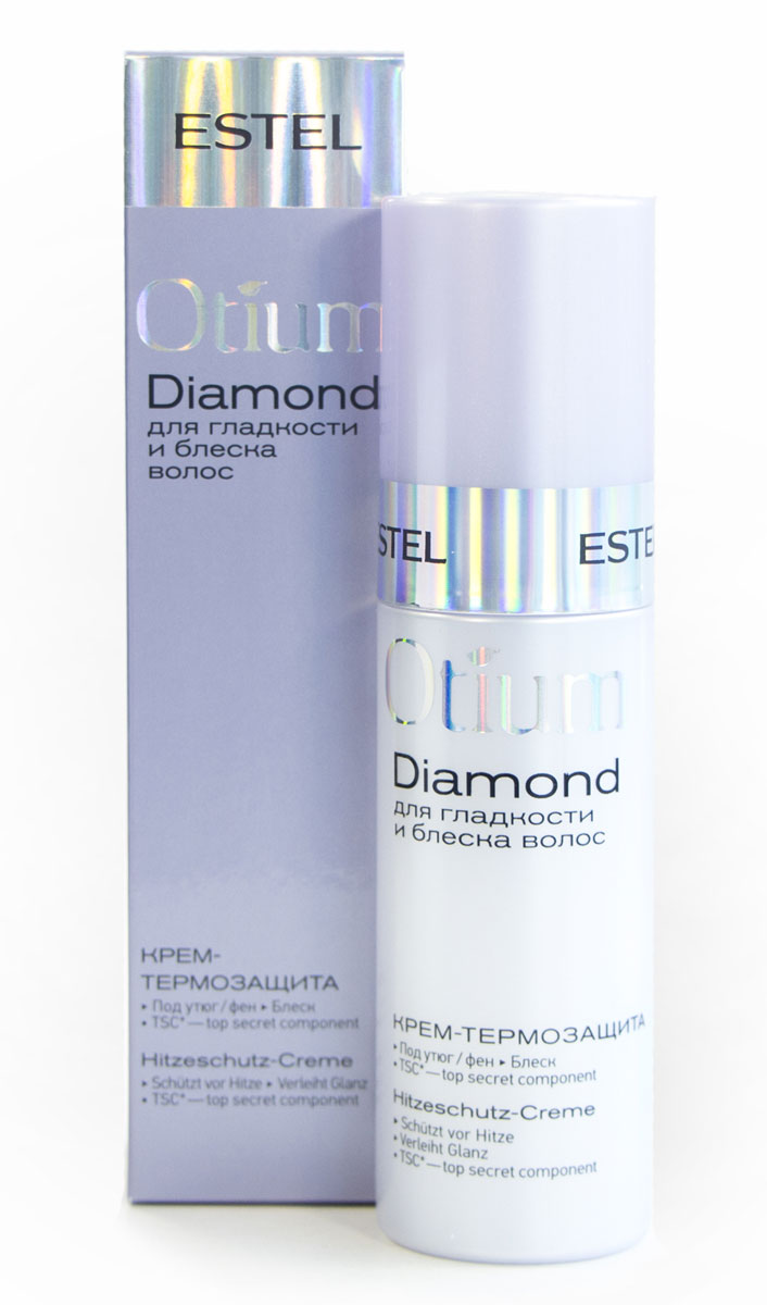 Estel Otium Diamond Легкий flex-крем для гладкости и блеска волос 100 мл