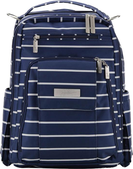 Ju-Ju-Be Рюкзак для мамы Be Right Back цвет синий белый 16BP01P-0119 сумка для мамы ju ju be be light onyx black beauty