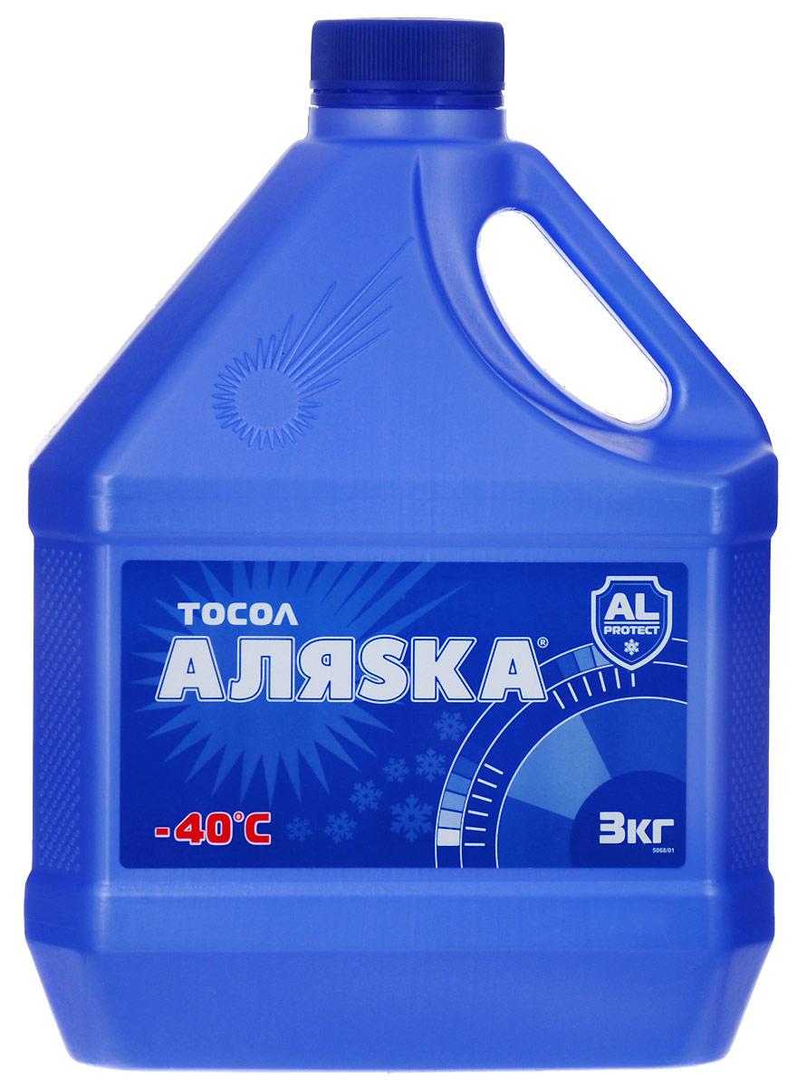 Тосол Аляска А-40, 3 л5068Тосол Аляска А-40 - это низкозамерзающая охлаждающая жидкость, которая изготовлена на основе высококачественного этиленгликоля с применением уникального пакета органических присадок.Новейшая формула применяемая в тосоле Аляска А-40 обеспечивает:Увеличение срока службы тосола. Стойкую антикоррозионную защиту металлов и сплавов. Пассивность к резиновым, неопреновым и керамическим деталям Предотвращает образование накипи.Тосол Аляска А-40 предназначена для использования в системах охлаждения двигателей современных автомобилей при температуре окружающей среды от -40 до +50 градусов. Тосол совместим со другими охлаждающими жидкостями на основе этиленгликоля.Уважаемые клиенты! Обращаем ваше внимание на то, что упаковка может иметь несколько видов дизайна. Поставка осуществляется в зависимости от наличия на складе.