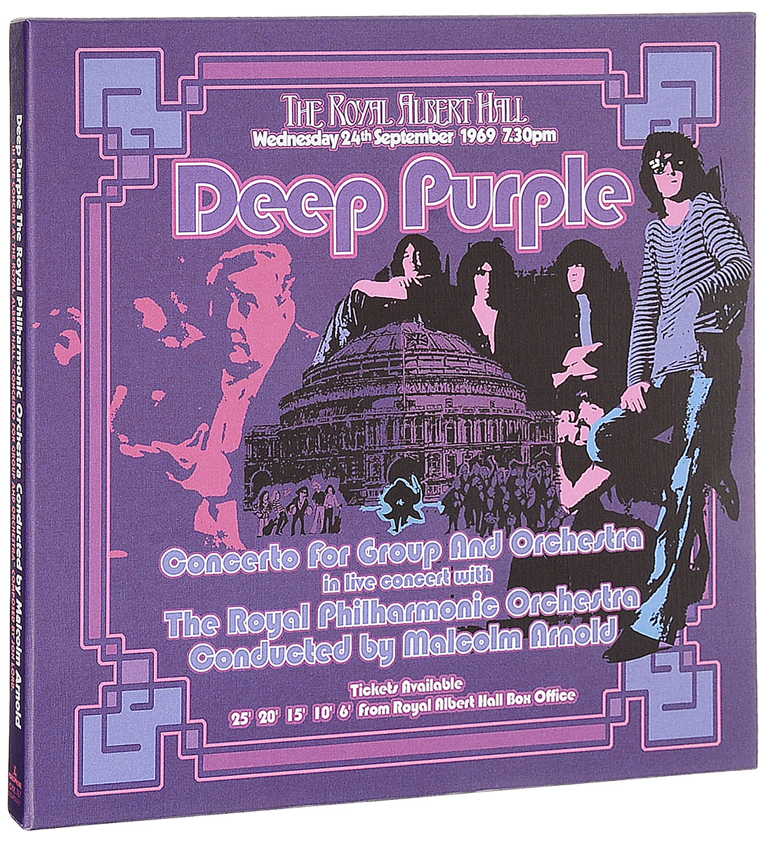 Deep Purple Deep Purple. Concerto For Group And Orchestra (3 LP) 030904 ntag203 chip nfc smart label for samsung n3 s4 light purple deep purple yellow 7pcs