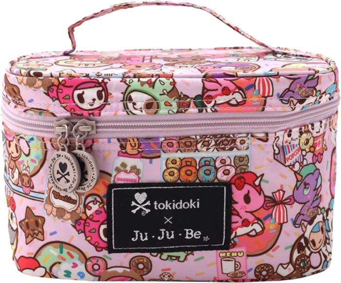 Ju-Ju-Be Сумка-бьюти кейс для мамы Be Ready цвет розовый 15TC01AT-6983 ju ju be сумка для мамы hobobe black petals