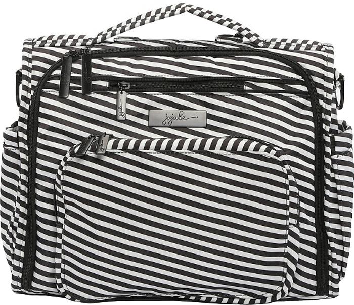 Ju-Ju-Be Сумка-рюкзак для мамы B.F.F. цвет черный белый 15FM02X-6440