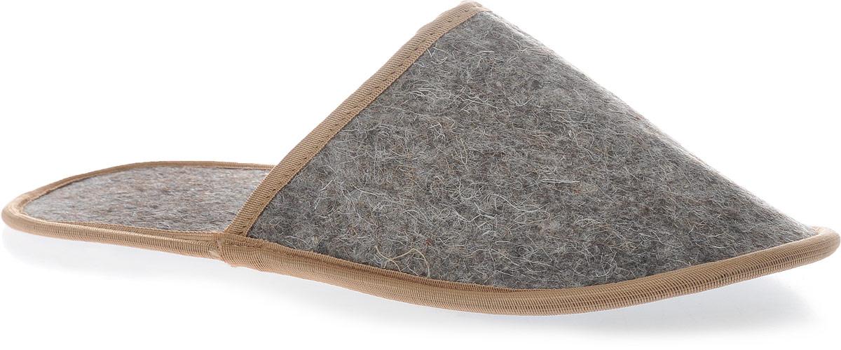 Необходимый аксессуар для посещения бани и сауны. Тапочки изготовлены из  натуральной шерсти. Обеспечивают тепло, обладают легким массажным  эффектом, уменьшают потливость ног. Также могут использоваться как домашние  тапочки. Длина по стельке: 30,5 см.