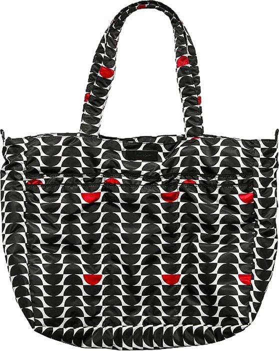 Ju-Ju-Be Сумка для мамы Super Be цвет черный белый 15FF02X-8017 ju ju be сумка для мамы super be black petals