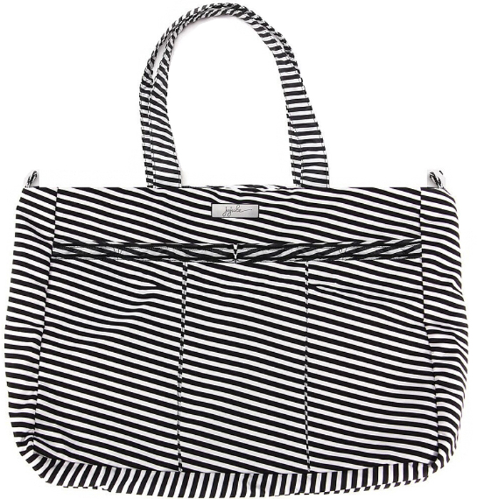 Ju-Ju-Be Сумка для мамы Super Be цвет черный белый 15FF02X-6433 ju ju be сумка для мамы super be black petals