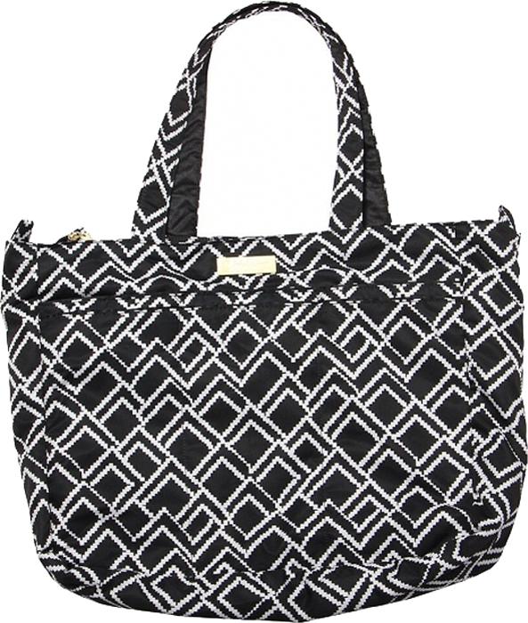Ju-Ju-Be Сумка для мамы Super Be цвет черный белый 13FF02L-4910 ju ju be сумка для мамы super be black petals