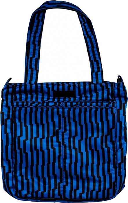 Ju-Ju-Be Сумка для мамы Be Light цвет синий черный 15FF01X-3776 сумка для мамы ju ju be be light onyx black magic