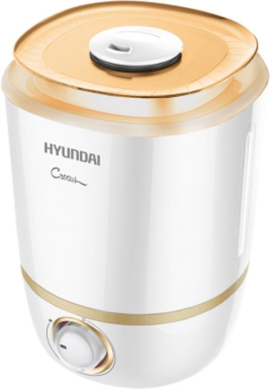 Hyundai H-HU1M-4.0-UI045, White увлажнитель воздухаH-HU1M-4.0-UI045Ультразвуковой увлажнитель воздуха Hyundai H-HU1M-4.0-UI045 - это высокотехнологичный прибор, который за минимальное время сделаетвоздух вокруг вас свежим и чистым. Он представляет собой стильный и компактный прибор, который может размещаться как на полу, так и настоле. Имеет удобный носик для распыления, который поворачивается на 360 Градусов.Большая емкость бака: 4 литраПлавная регулировка скорости выхода параПроизводительность по увлажнению 300 мл/чРегулировка направления потока пара: поворотный носик на 360°Боковое окно из прозрачного пластика для визуализации уровня воды в баке Удобная ручка резервуары воды для переноскиСветовая подсветка внутри резервуара Автоматическое отключение при отсутствии воды Бесшумная работа для комфортного использования во время сна и отдыха
