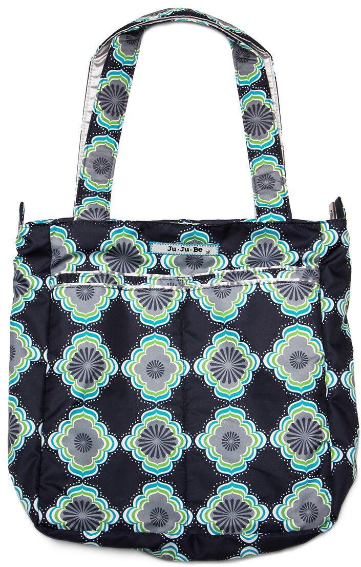Ju-Ju-Be Сумка для мамы Be Light цвет синий зеленый 13FF01A-4507 сумка для мамы ju ju be be light providence