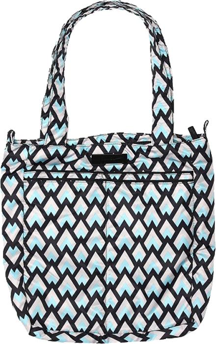 Ju-Ju-Be Сумка для мамы Be Light цвет голубой белый 15FF01X-6273 сумка для мамы ju ju be be light providence