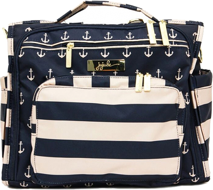 Ju-Ju-Be Сумка-рюкзак для мамы B.F.F. цвет синий белый 13FM02L-3289
