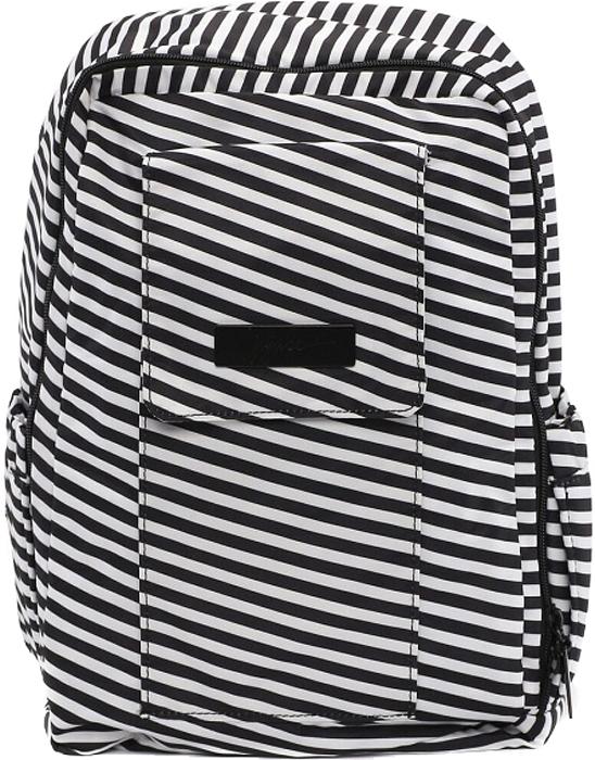 Ju-Ju-Be Рюкзак для мамы Mini Be цвет черный белый 15BP02X-6402