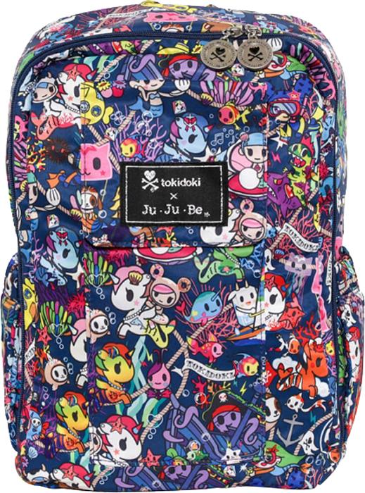 Ju-Ju-Be Рюкзак для мамы Mini Be цвет синий розовый 13BP02AT-1802