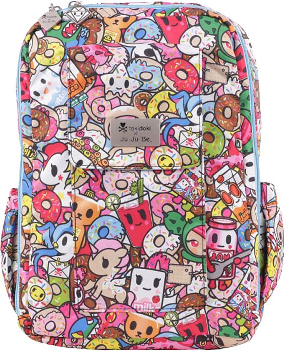 Ju-Ju-Be Рюкзак для мамы Mini Be цвет розовый 13BP02AT-2656 ju ju be сумка для мамы hobobe black petals