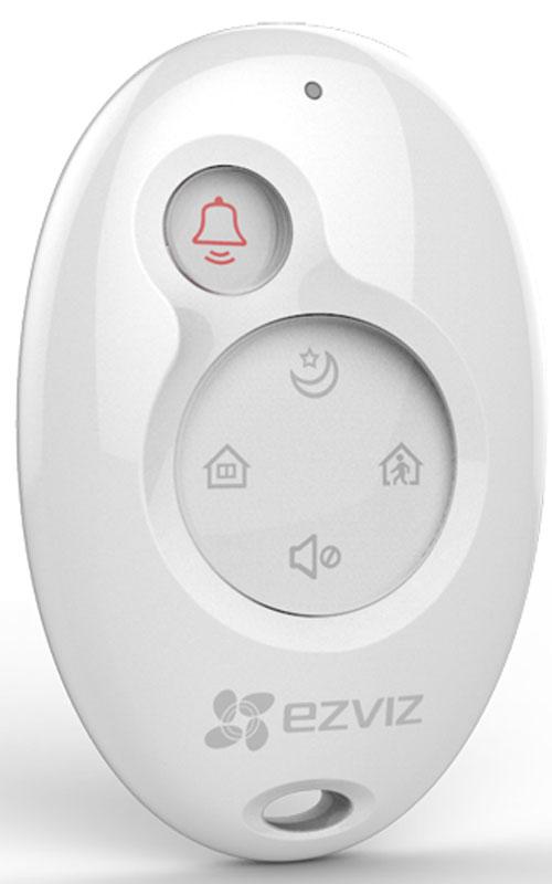 Ezviz К2 беспроводной пульт управления6954273625849Беспроводной пульт дистанционного управления Ezviz К2 оснащен тревожной кнопкой. Он позволяет активировать один из трех режимов работы(спящий режим, вне дома, домашний). Тревожная кнопка позволяет одним нажатием отправить экстренный вызов на заранее указанный номертелефон.Пульт работает от 1 батарейки типа CR2032.