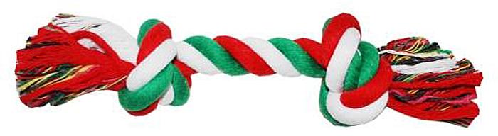 Грейфер для собак №1, 2 узла, 37 смГР12024-11Благодаря веревке, сплетенной из хлопковых нитей, игрушка-грейфер поможет поддерживать гигиену зубов собак и массажировать десны.