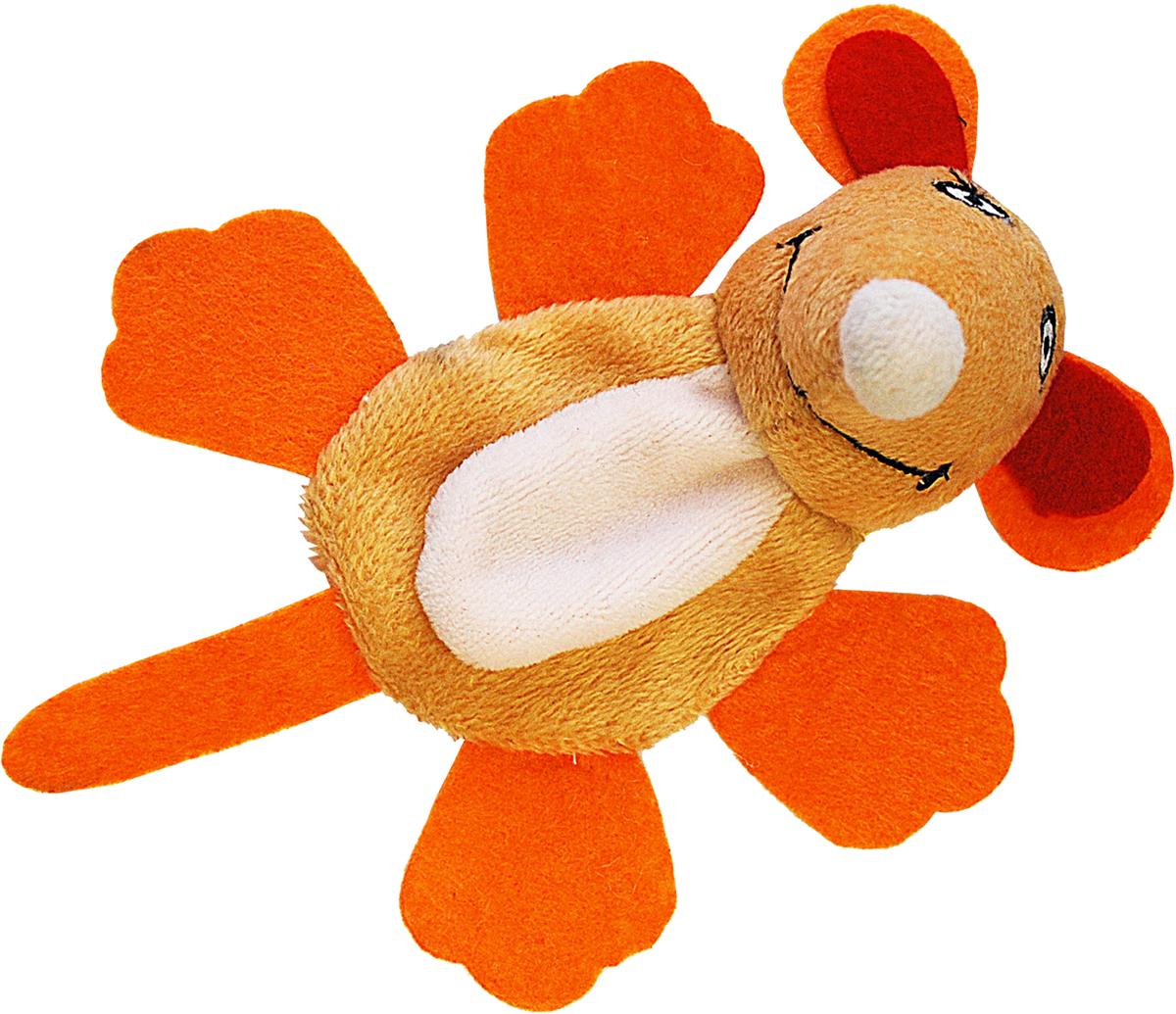 Игрушка для собак Уют Мышь, 16 x 11 x 5 смИУ205Благодаря пушистому меху они напоминают шкурку зверька и пробуждают охотничьи инстинкты, из-за этого четвероногие с удовольствием грызут и кусают игрушки, практически не выпуская их из лап.
